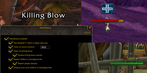 HeroStatus Addon for WoW 2.4.3
